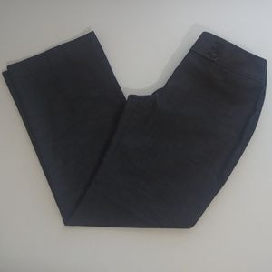 Loft Women's Gray Julie Dress Pants Size 6